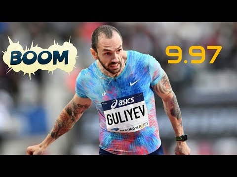 06 JUL 2017 Final 100m 9,97 Ramil Guliyev Bursa (Turkey)