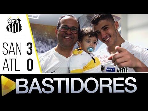 Santos 3 x 0 Atlético-MG | BASTIDORES | Brasileirão (14/08/16)