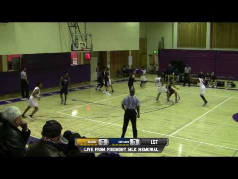 Mission vs Central Catholic High School Boys Basketball FULL GAME LIVE 1/14/17
