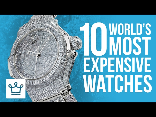 watches most the of expensive new insider can money business buy