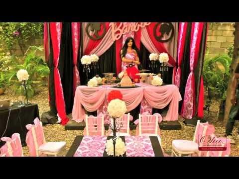 Barbie Party Decorations