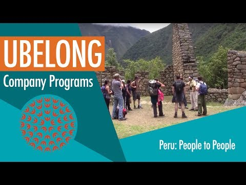 Company Programs: People to People in Cusco, Peru