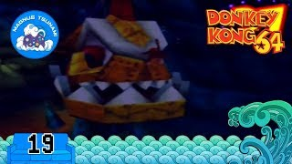 Diddy Kong versus the mechanical fish! | Donkey Kong 64 | Casual Couch Gaming