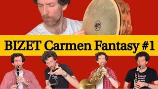 "Bizet Carmen Fantasy, Part I ""entracte"" | Nicolas Baldeyrou"