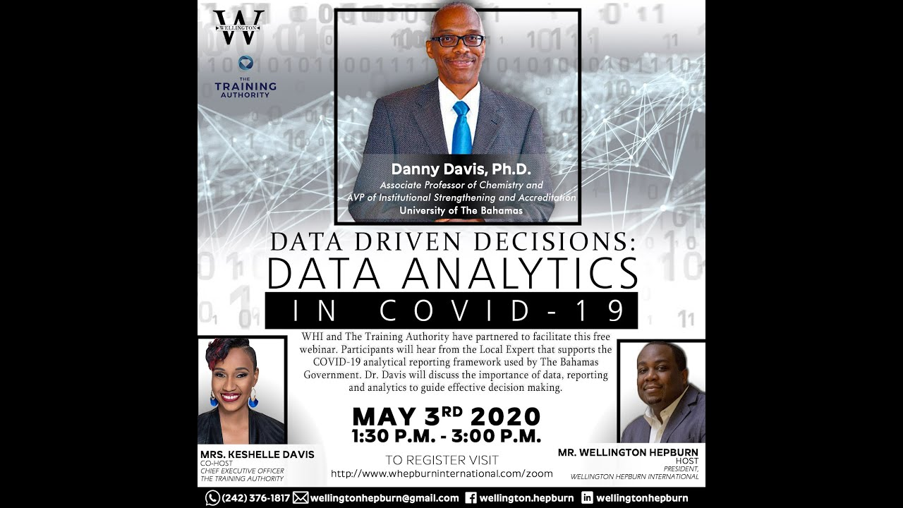 WHI C3 Series - Data Driven Decisions (May 3 2020)