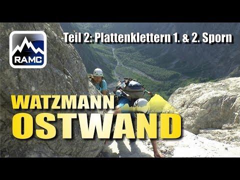 Watzmann-Ostwand #2: Plattenklettern