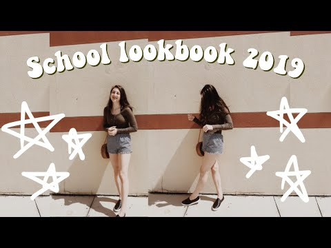 [VIDEO] – School Lookbook 2019! // Back to School Outfit Ideas // Camden Paige