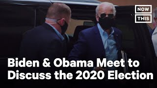 Joe Biden & Barack Obama Talk Trump and America's Future | NowThis
