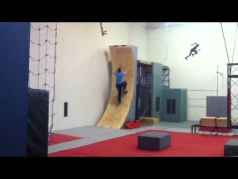 Ryan Stratis American Ninja Warrior practice course