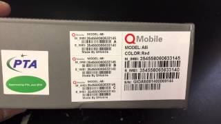 q mobile noir a8 unboxing video in stock at www welectronics com