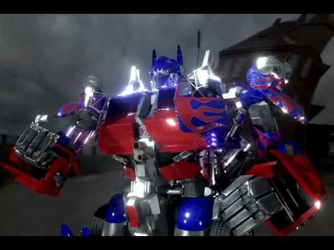 3d Transformers The Return Of Live Action Optimus Prime Youtube