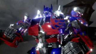 3D TRANSFORMERS The Return of live action optimus prime!