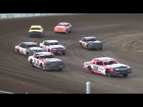 IMCA Hobby Stock Heat 2 Independence Motor Speedway 7/27/19