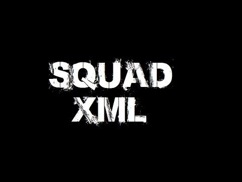 ARMA 3 - How to add a Squad XML