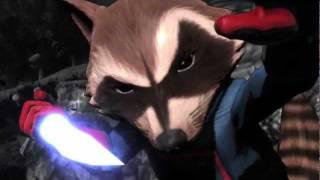 Ultimate Marvel vs. Capcom 3: Rocket Raccoon