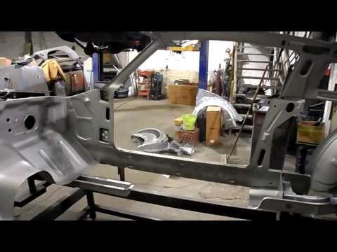 1967 Ford Mustang Eleanor complete body build