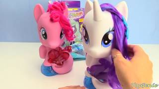 My Little Pony Pinkie Pie and Rarity Wash and Style Sea Ponies