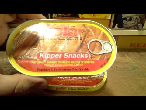 MW Polar Foods Kipper Snacks Bonless Smoked Herring SHTF Food Review