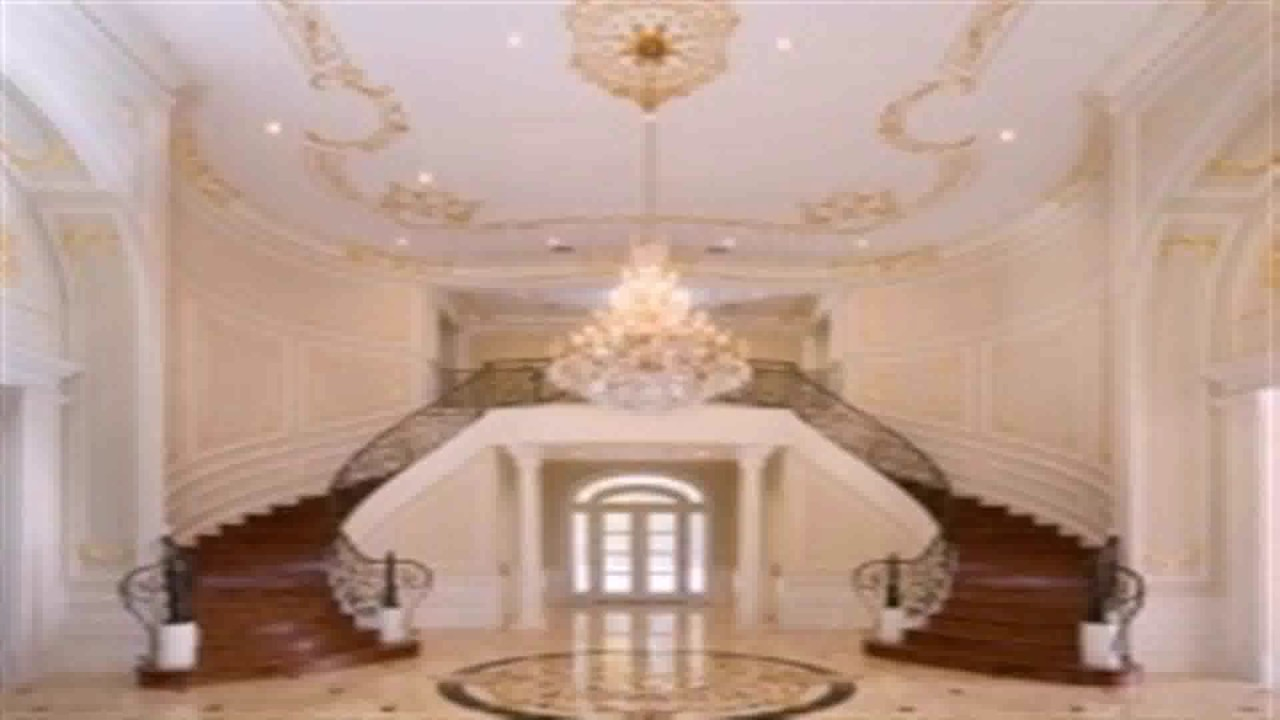 Foyer Plan You Tube : Floor plans with double staircase youtube