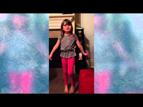 "Piper lip syncing ""Let It Go"" from the Frozen Soundtrack"