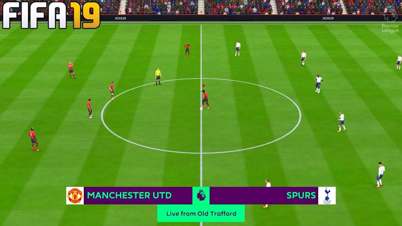 Download FIFA 19 | Manchester United vs Tottenham - 2019/20 Premier League - Full Match & Gameplay
