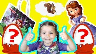 РаспаковКА|Волшебные Подарки|СЮРПРИЗ Принцесса София Disney|Новые Игрушки