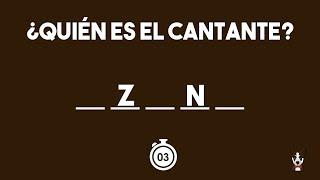 ADIVINA EL CANTANTE DE REGGAETON Y TRAP CON DOS LETRAS | JONATHAN GC