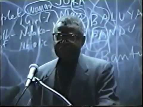 Dr Ben Jochannan Christianity, Judaism, Islam And How AFRICA started them ALL!