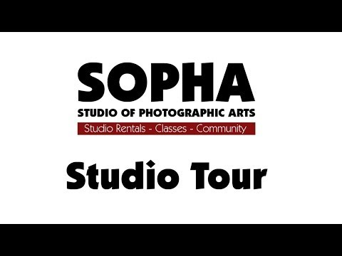 SOPHA Studio Tour (Rental studio in Manchester, NH)