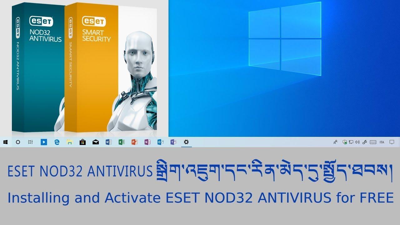 eset nod32 offline installer 2019