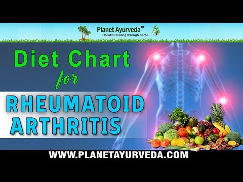 Diet Chart for Rheumatoid Arthritis - Foods To Be Avoided and Recommended