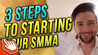 3 CRUCIAL Steps to Starting Your Own SMMA | Social Media Marketing Agency thumbnail