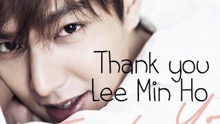Lee Min Ho - Thank you [Sub esp + Rom + Han]