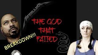 Metallica The God That Failed!! Christians REACT !!