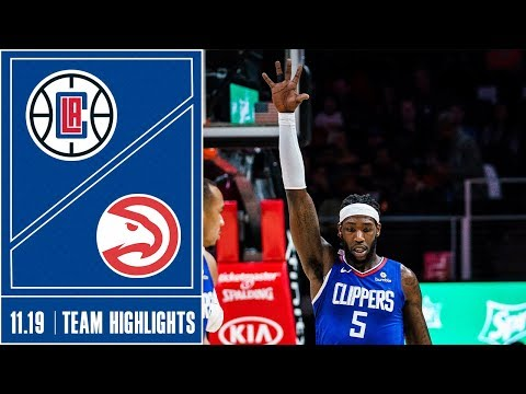 Clippers at Hawks Game Highlights | 11/19