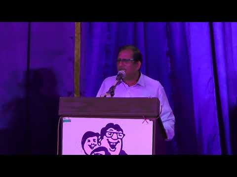 Humour Club International Triplicane Chapter l SPEECH BY SRI RAMANA BHARATHI l  Kailasam & Gomathy