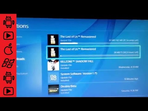 Play as you download Size for The Last of Us Ps4