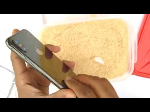 How To Save A Water Damaged Cell Phone With Rice
