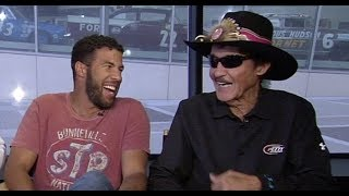 Watch the entire Darrell Wallace Jr./Richard Petty Facebook Live