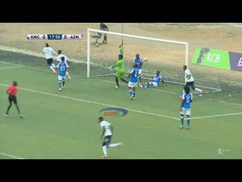 MAGOLI YOTE: KMC 2-2 AZAM FC ; (TPL - 10/12/2018)
