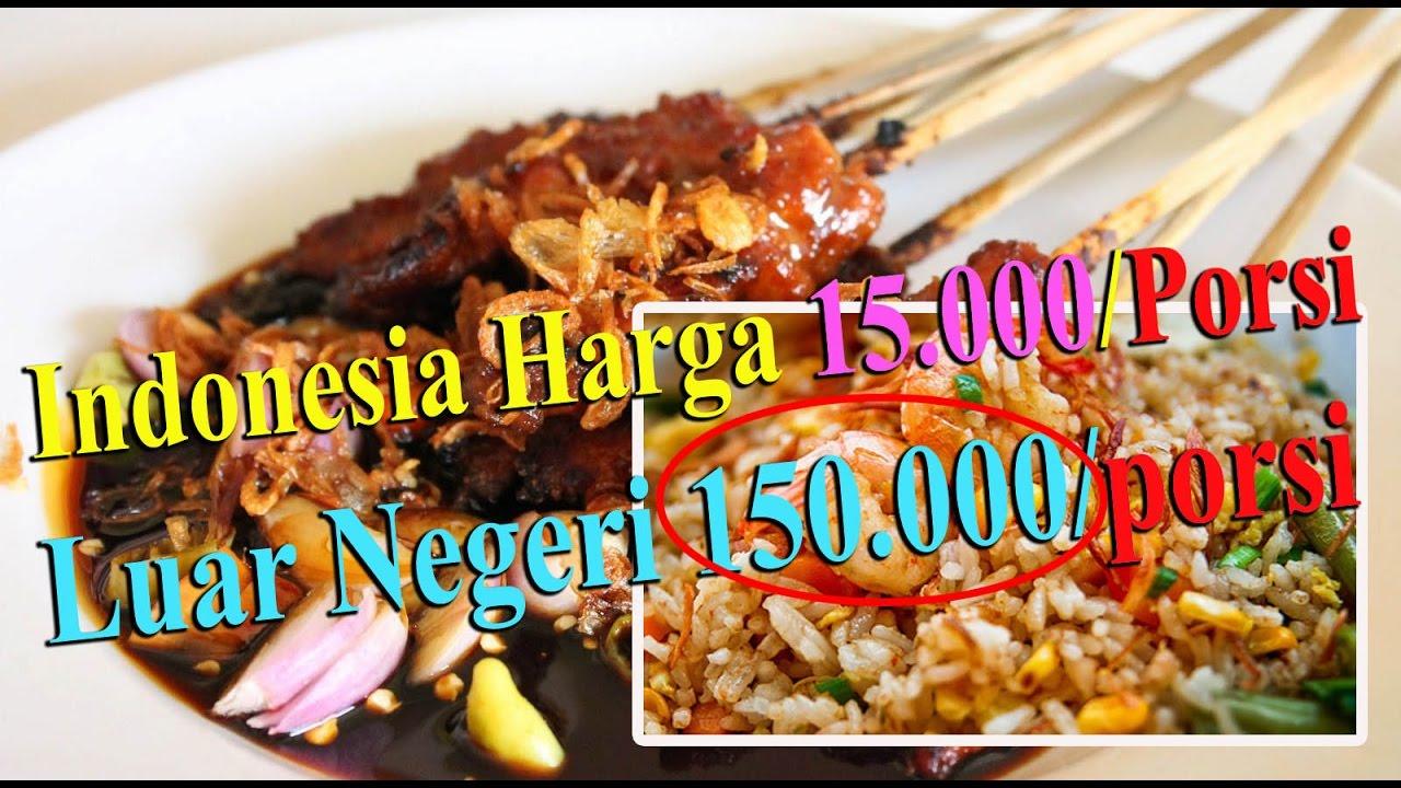 4 Makanan Indonesia Ini Dijual Mahal Di Luar Negeri Padahal