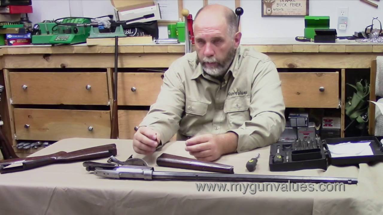 Savage 1899 Assembly And Repair Part 1 Youtube