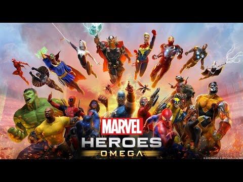 Marvel Heroes Omega Beta Launch Stream on Playstation 4 Pro! (Spider-Man, Nova, Thor Gameplay)
