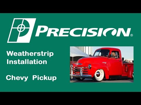 1947-1950 Chevy Truck Glass Run Installation