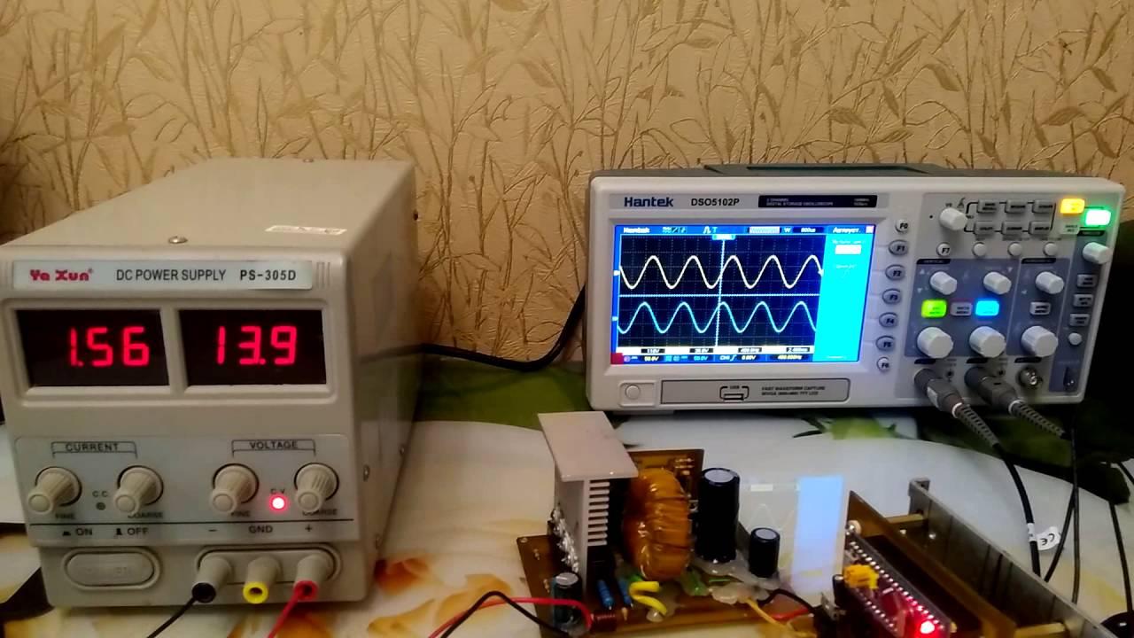 частотный инвертор 0-50гц схема