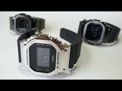 CASIO G-SHOCK GM-5600 в вариантах