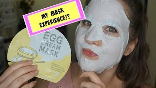 Too Cool For School Egg Cream Facial Mask ~Is it worth it?!~