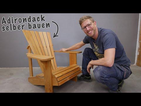 #1 Bequeme Gartenstühle selber bauen | Die halten ein Leben lang!