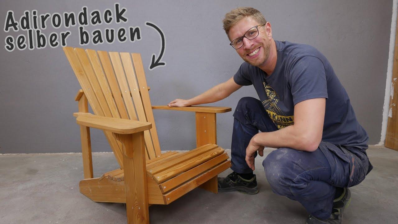 1 bequeme gartenst hle selber bauen die halten ein leben lang lets bastel youtube. Black Bedroom Furniture Sets. Home Design Ideas