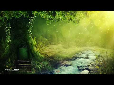 ENCHANTED MYSTICAL FOREST MUSIC    Positive Happy Stress Relieving Music, Sounds of Nature + Birds